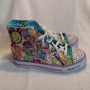 Skechers Twinkle Toes Pop Princess sneakers